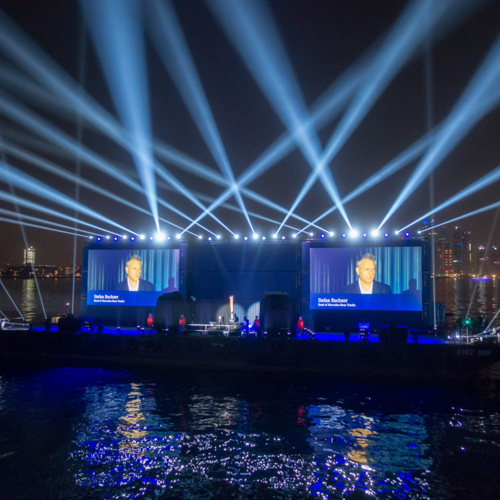 Mercedes-Benz Trucks Event, Dubai 2018